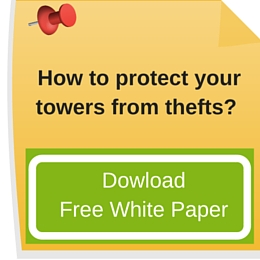 How to protect your towers from thefts